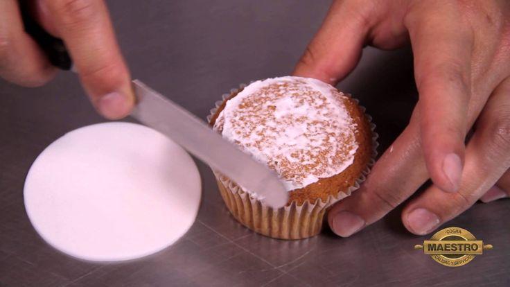 Cup Cakes Navideños con Astra y Fondant Maestro Mix