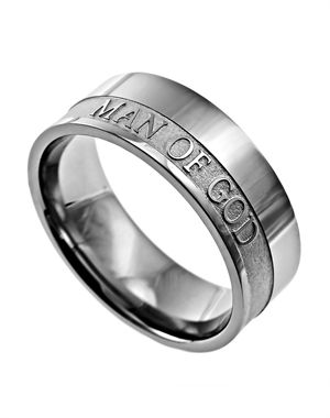 Man of God Mens Ring . I gave this to Chris last year for Fathers Day.