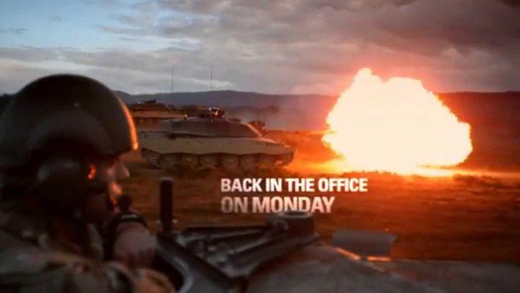 #BeTheBest Army Reserve Recruitment Advert