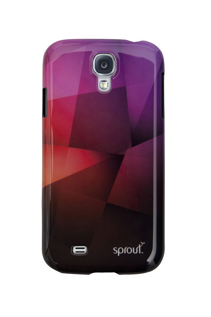 Looking for something funky & fresh? Take a look at the Geo case for Samsung S4.  Featuring a unique geometric design in tonal colours housed in a hard PC shell, this case will not only protect your phone but ensure it turns heads. Price: $39.99  Light purple hues represent feminine energy and delicacy, as well as romantic and nostalgic feelings. #purple #colourpsychology #colourmeaning #case #cover #sprout #freedomtogrow #technology #samsung #galaxys4 #unique #loveit #amazing