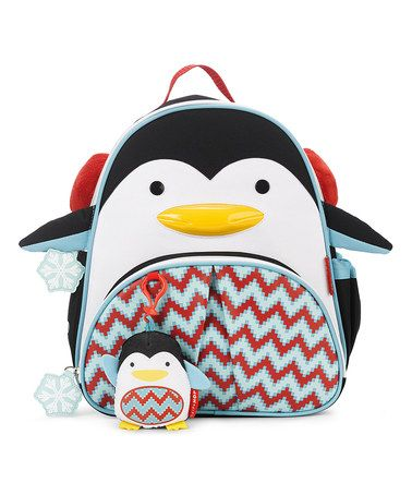 Look what I found on #zulily! Penguin Zoo Backpack Set #zulilyfinds