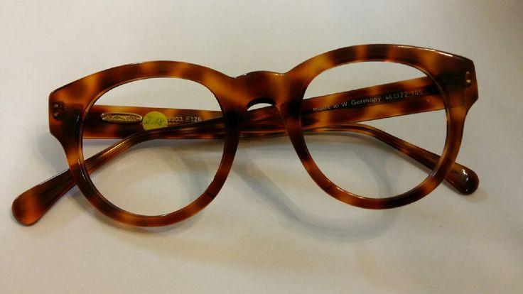 80er Jahre Brille Panto havanna von Brendel