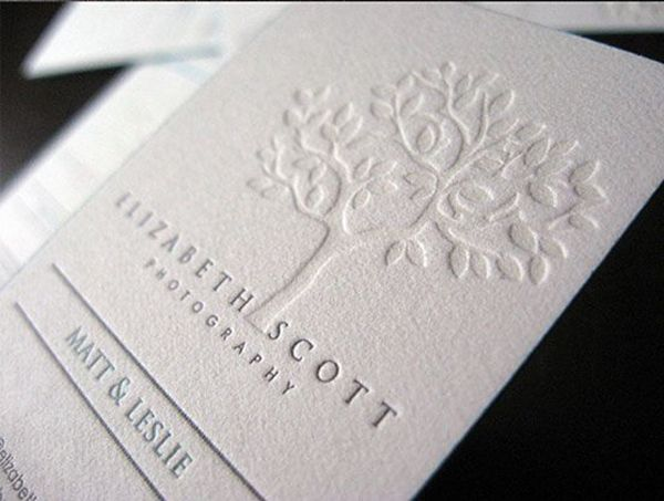 12 best letterpress images on pinterest embossed business cards letterpress examples elizabeth scottbusiness cards reheart Gallery