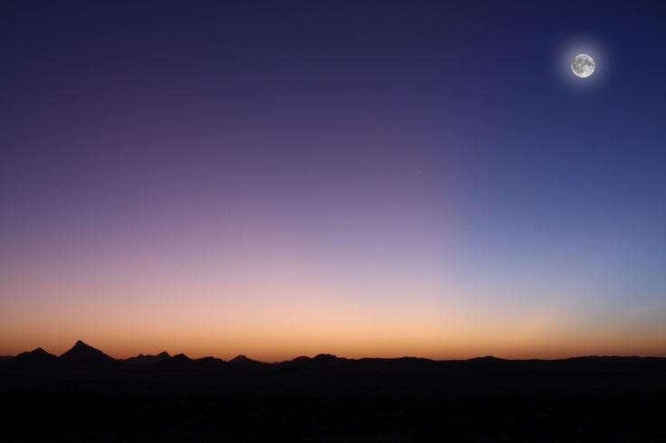 Djanet, Algeria. Desert, south of algeria. sunset on the dunes