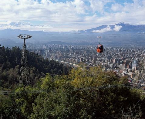 Las Gorgolas del cerro San Cristobal Santiago Chile