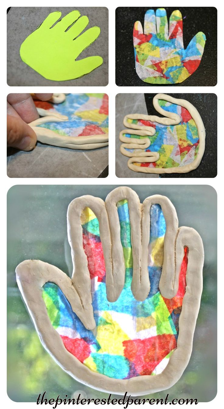 Clay Suncatchers - summer arts and crafts projects for kids made with clay