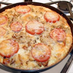 Potato and Vegetable Frittata Allrecipes.com. Did without the ...
