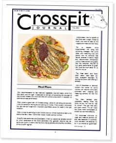CrossFit Journal Zone Meal Plans
