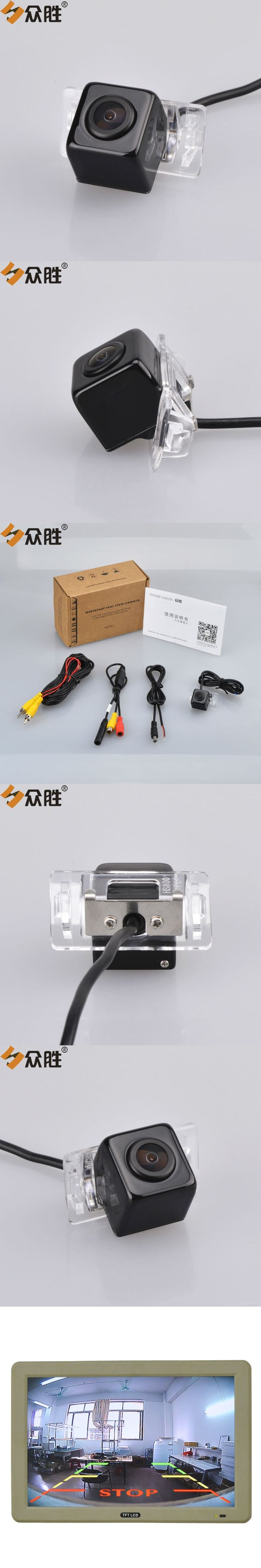 Car Rearview Camera for Toyota Camry 2008 Car Rear View Camera Auto Backup Reverse Parking Assistance Camera Waterproof HS8001