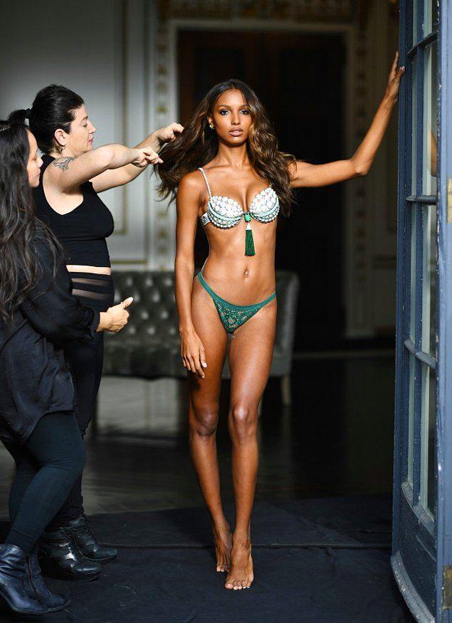 Перед вами известная американская топ-модель Жасмин Тукс.