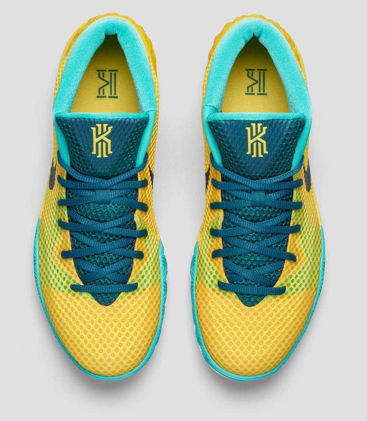 Nike Kyrie 1 \u0027Letterman\u0027 looks great with Aussie color palate. Kyrie Irving  ShoesNike ...