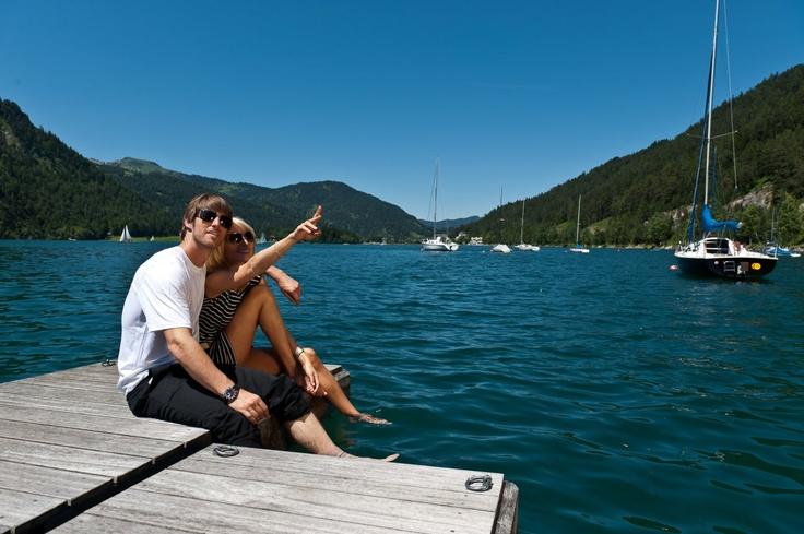 Aktivurlaub, Segeln, Segelturn, Achensee, See in Tirol, Bergsee, Alpenpanorama, Boote, Hafen