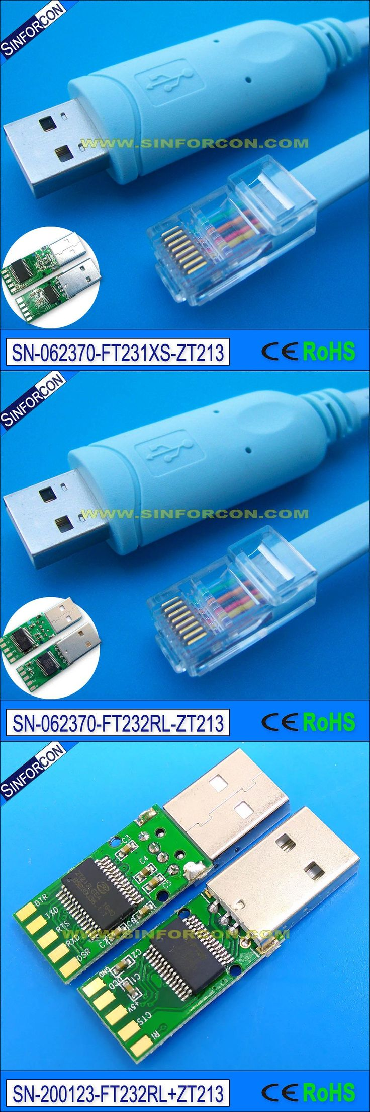 [Visit to Buy] usb serial drivers cable ftdi usb rs232 rj45 serial console cable for h3c 9306 huawi fortinet cisco router switch #Advertisement