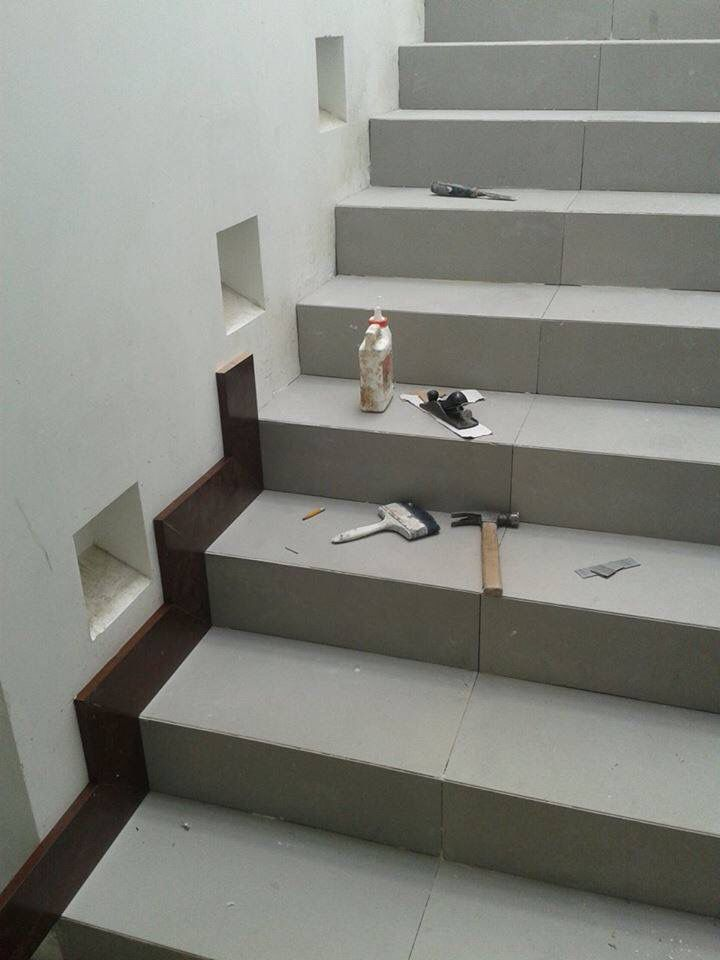 Zoclo De Madera Zoclos De Madera Rocka Chip Stairs