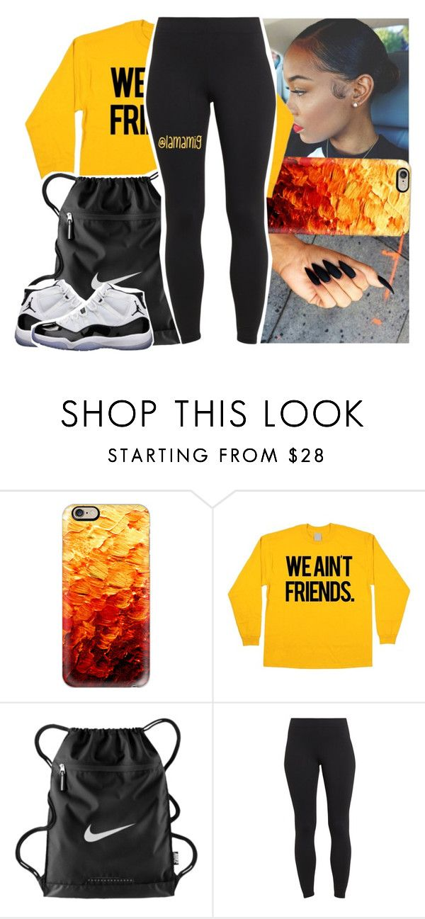 """what a wicked way to treat the girl that loves you."" by lamamig ❤ liked on Polyvore featuring Casetify, NIKE, Maidenform and Concord"