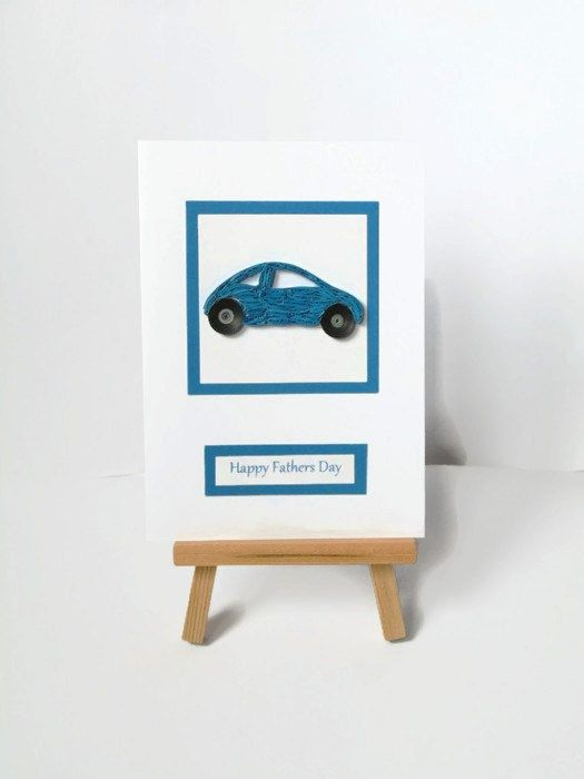 Sale  Quilled Fathers day card Fathers day card by KaisCards