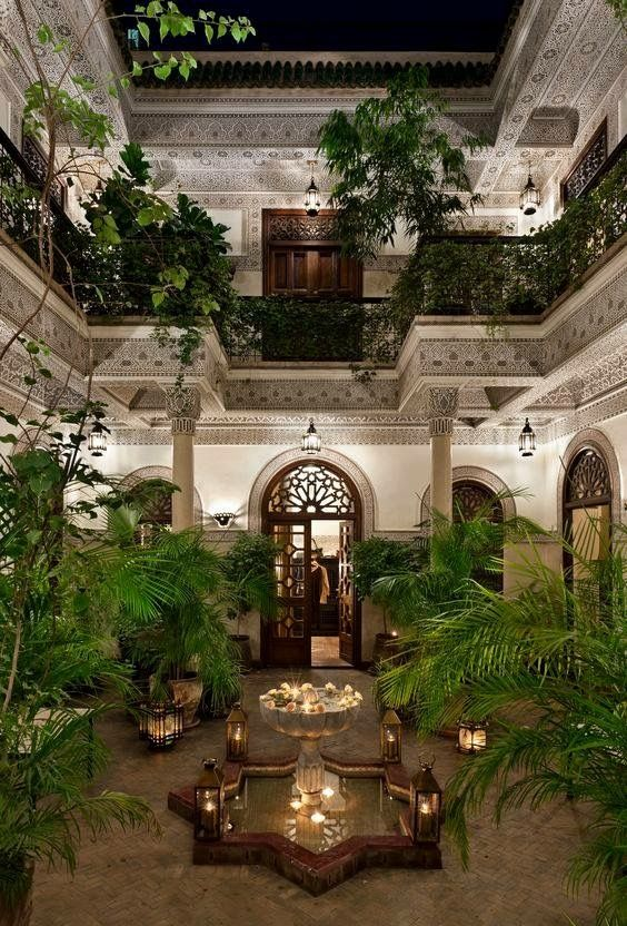 Villa of Orange, Marrakech, Morocco from Facebook page -Art, Craft & Architecture