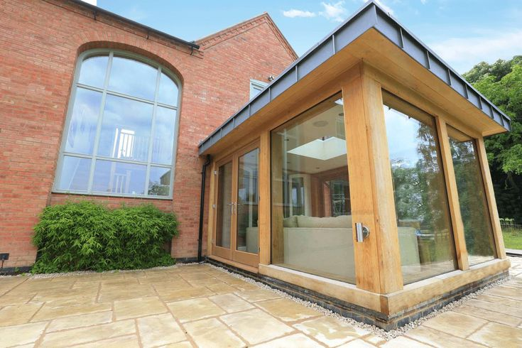 1767 best images about green oak house on pinterest for Wooden garden rooms extensions