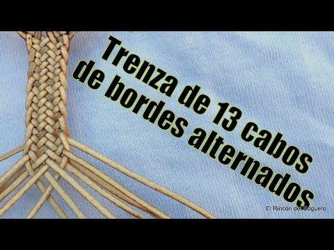 """Trenza de 13 de bordes alternados """"El Rincón del Soguero"""""""