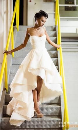 The Martini Dress by Rivini | @PreOwndWedDress Price: $2,500 | Retail: $6,000