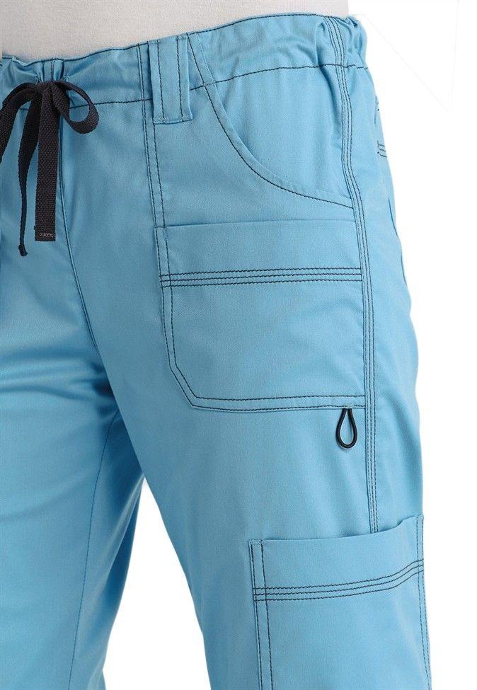 Dickies Gen Flex Ladies Youtility 9-pocket scrub pants. - Scrubs and Beyond