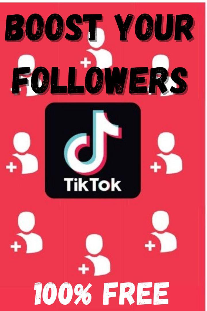 Tikbooster Best Generator For Free Tiktok Followers Free Followers How To Get Followers Real Followers