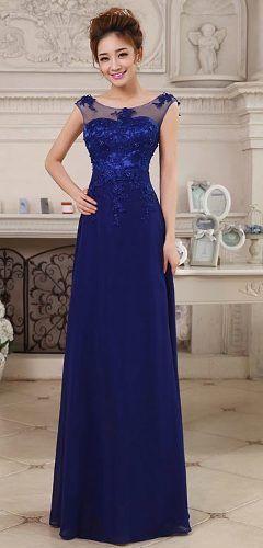 vestido de festa madrinha formatura azul turquesa bordado
