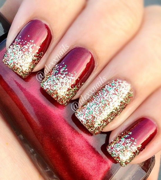 My favorite Christmas Nail Designs!