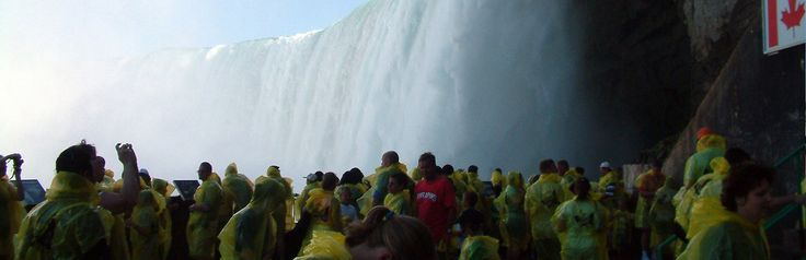 Journey Behind The Falls.  #Niagara #Falls #day #tours