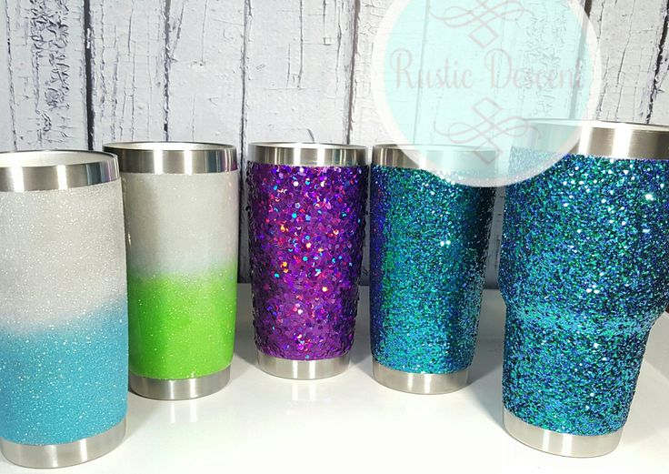 Glitter Tumbler, You pick size: 20 oz Tumbler, 30 oz ...