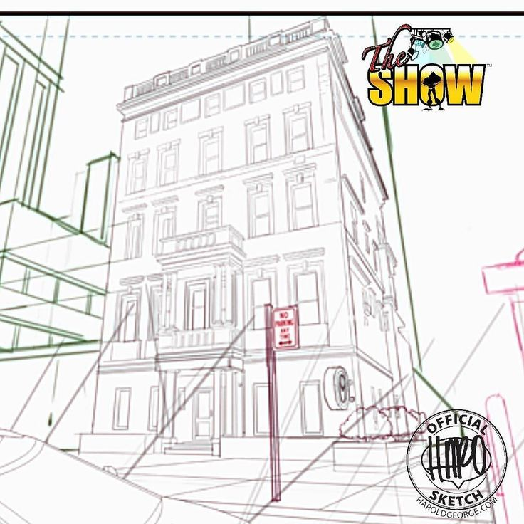 Sketch 550 I've been so busy with so many things that I haven't put as much time into finishing #theshowcomic as I normally would. But that's going to change today. Here is some headquarter construction I did for one of the panels. This will be the face of The Show's base of operations.  #comicartist #turlocktoonskwad #makingcomics #indiecomics #clipstudiopaint #HaroldGeorge #HaroArtist #sketchtimewithHARO #comics #blulinesdotcom
