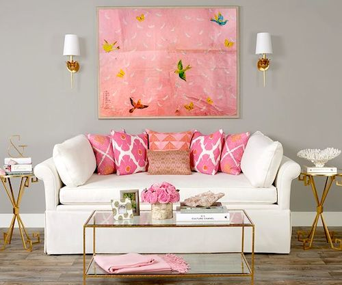25 best ideas about pink living rooms on pinterest pink living room sofas pink furniture for I ve been seeing angels in my living room