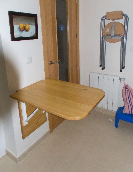 Hecho x nosotros mismos muebles casa pinterest - Mesa plegable pequena ...