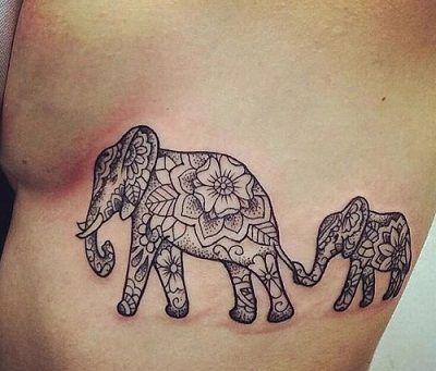 tatuajes-ornamental-elefante