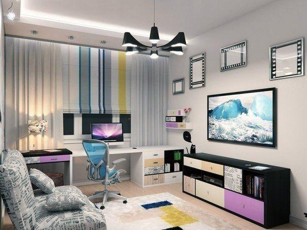 Подростковая комната - Дизайн интерьеров | Идеи вашего дома | Lodgers
