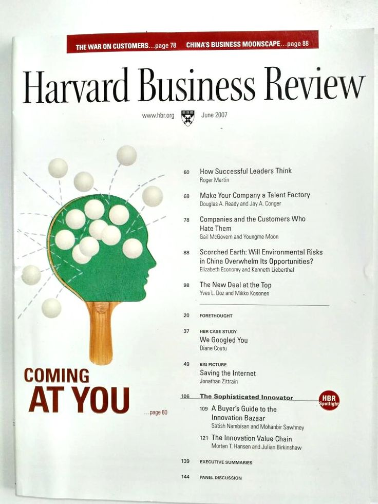 HBR Coming at You