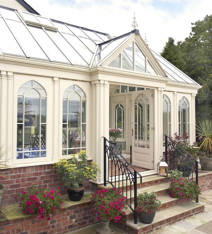 17 best images about conservatories greenhouses on for Victorian sunroom designs