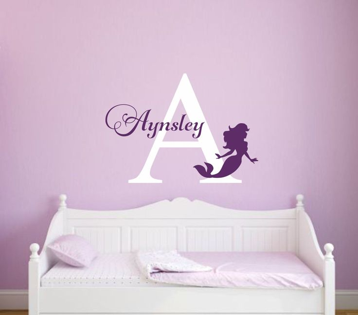 25 best Mermaid wall decals ideas on Pinterest Little mermaid
