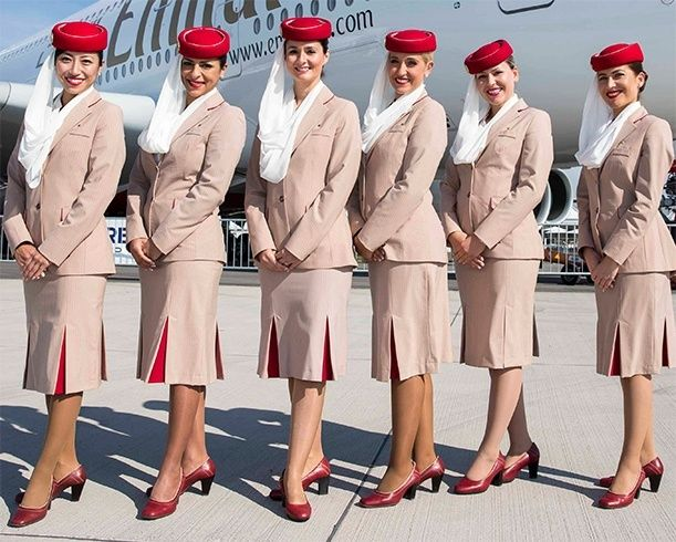 emirates airlines flight attendant