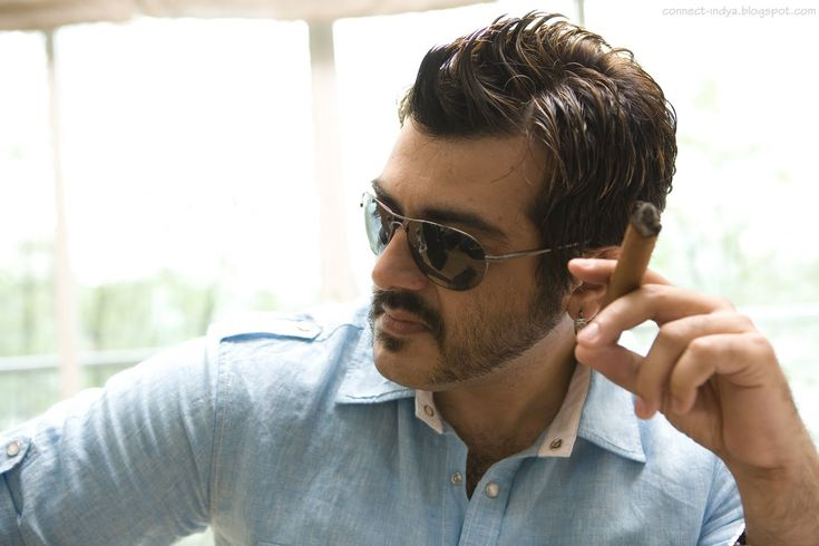 nice South Actor Ajith Kumar Wallpaper Stills