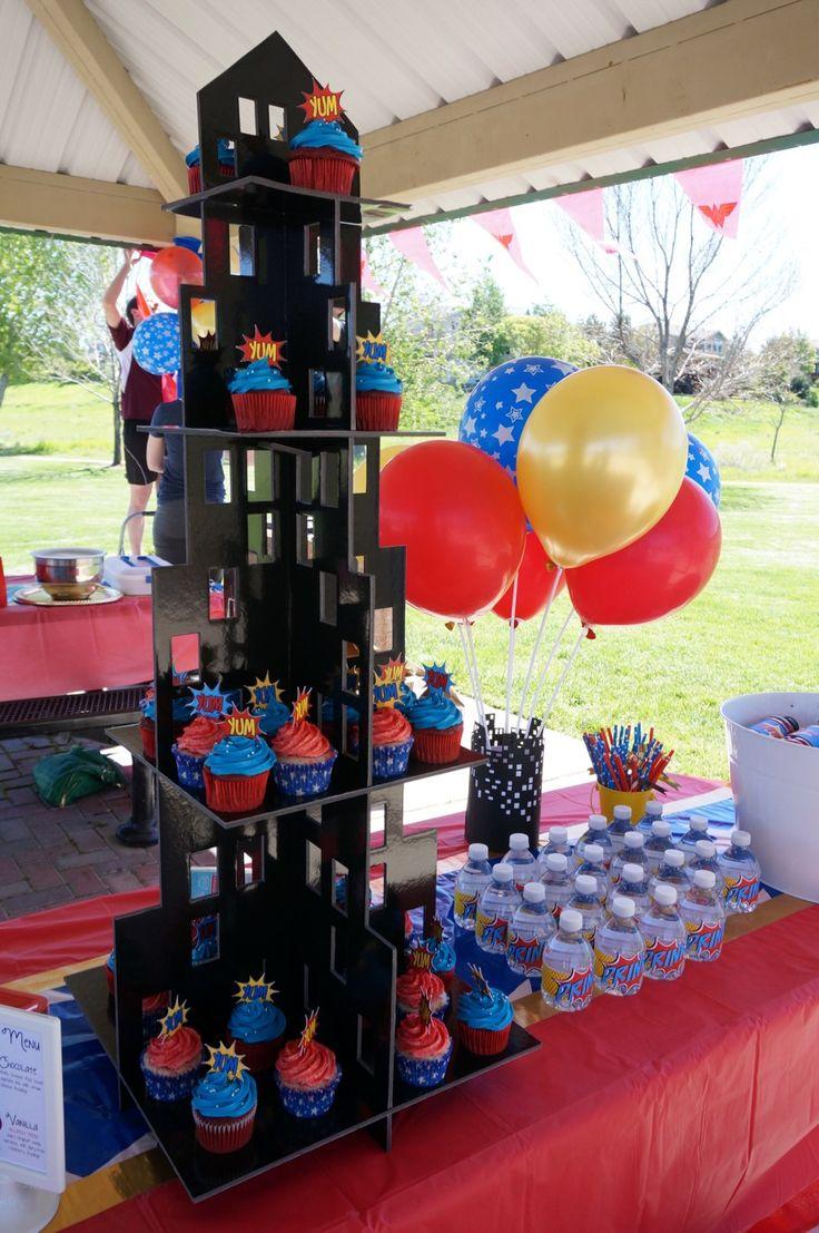 Wonder Woman Birthday Party - 6 of 30