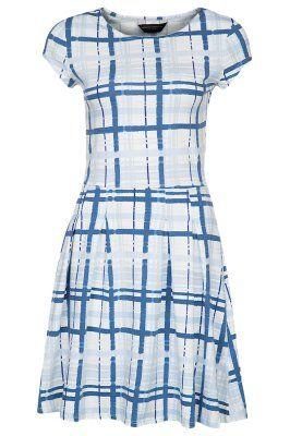 Sukienka z dżerseju - niebieski