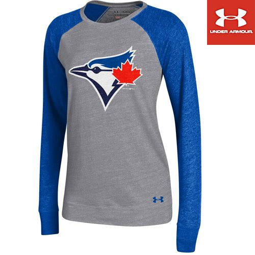 Toronto Blue Jays Women's Triblend Baseball Tee by Under Armour® - MLB.com Shop