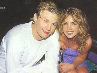 omgggg it's my two favorite people!!  Britney Spears and Nick Carter