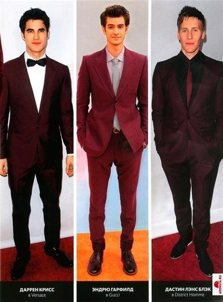 Черно бордовые мужские костюмы