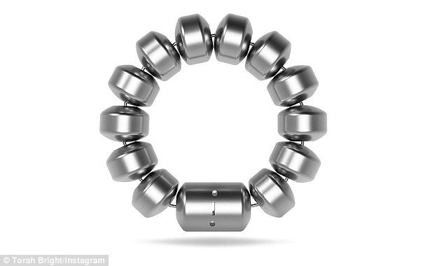 The LINX bracelet-like device is made of magnetic beads, and is implanted via key-hole surgery around the esophageal sphincter muscle, to help ease the symptoms of gastro-esophageal reflux disease (GERD). The condition is caused by a weak sphincter muscle allowing gastric fluid to reflux into the esophagus