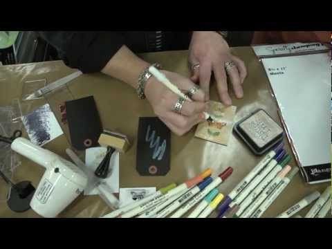 Distress Marker Demo