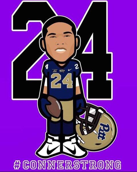 Pitt Panthers H2P James Connor