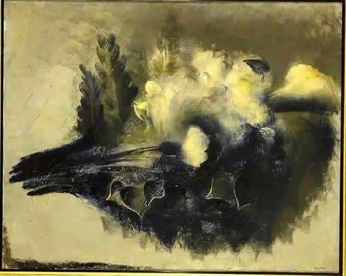 """""""Bouquet"""", by Jean Fautrier (1928)"""