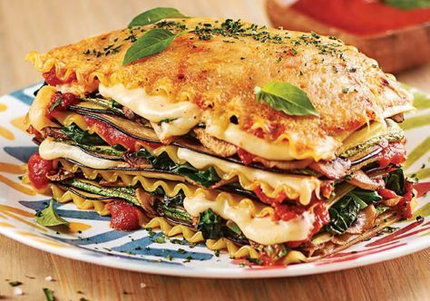 Veggie Recipes, Healthy Recipes, Veggie Food, Lasagna Vegetariana, Salmon Burgers, Soul Food, Food To Make, Veggies, Food And Drink